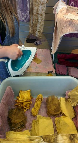 Ironing samples
